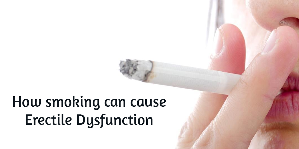 How smoking can cause erectile dysfunction